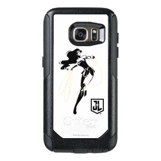 Liga | van de rechtvaardigheid Wonder Vrouw met OtterBox Samsung Galaxy S7 Hoesje