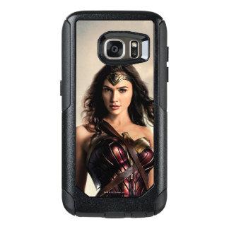 Liga | van de rechtvaardigheid Wonder Vrouw op OtterBox Samsung Galaxy S7 Hoesje