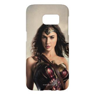 Liga | van de rechtvaardigheid Wonder Vrouw op Samsung Galaxy S7 Hoesje