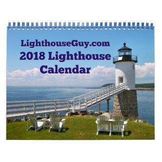 LighthouseGuy.com van 2018 de Kalender van de Kalender