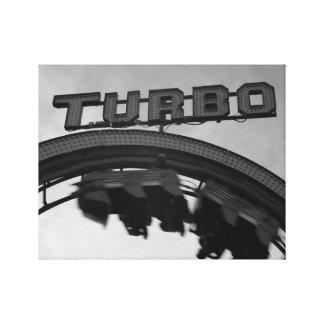 Lijn de Lijn Turbo Canvas Print