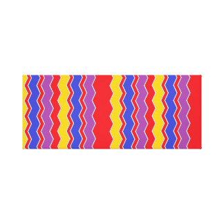 lijnen colorfull canvas print