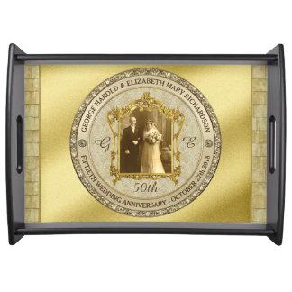 Lijst van de Foto van het Jubileum van de gouden Dienblad