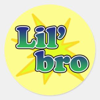 Lil Bro Ronde Sticker