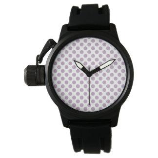 Lila Stippen Horloges