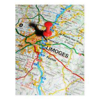 Limoges, Frankrijk Briefkaart