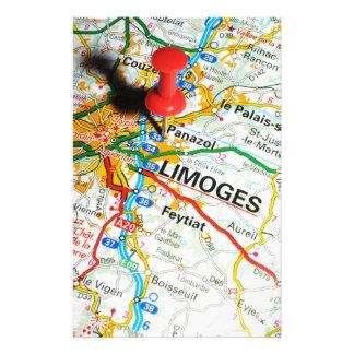 Limoges, Frankrijk Briefpapier