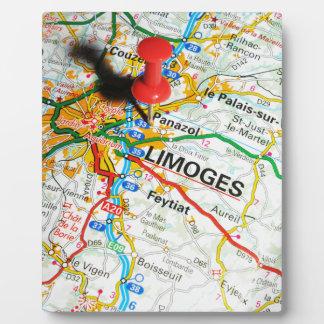 Limoges, Frankrijk Fotoplaat