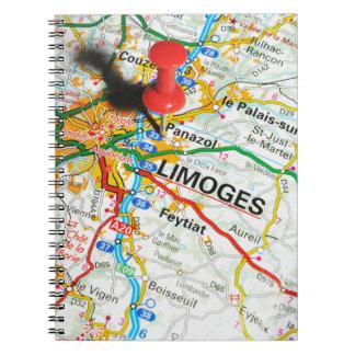 Limoges, Frankrijk Notitieboek