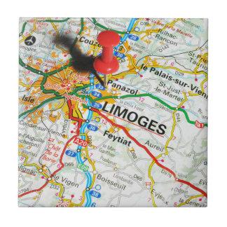 Limoges, Frankrijk Tegeltje