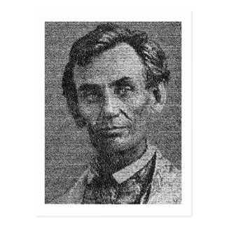 Lincoln met Adres dat Gettysburg wordt Briefkaart