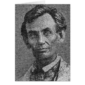 Lincoln met Adres dat Gettysburg wordt Kaart