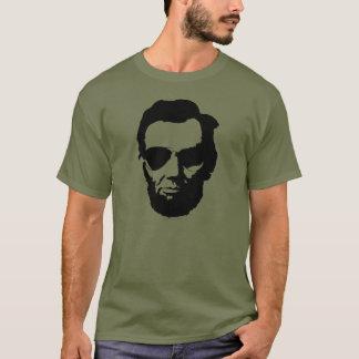 Lincoln met de Zonnebril van de Vliegenier - T Shirt