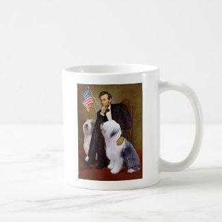 Lincoln - Twee Oude Engelse Herdershonden Koffiemok