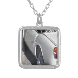 Linkerkant van een oude Britse klassieke auto Zilver Vergulden Ketting