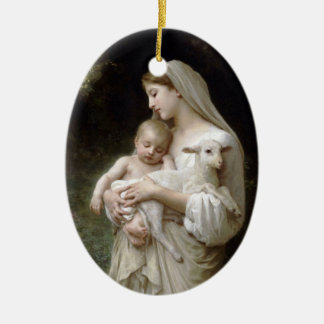 L'Innocence Keramisch Ovaal Ornament