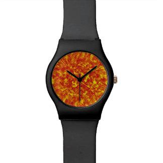 Linten van Brand Horloge
