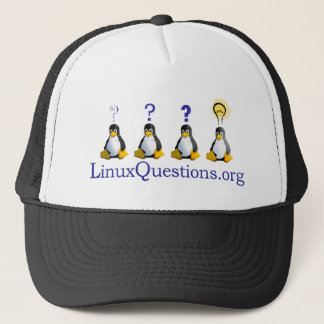LinuxQuestions.org Logo Trucker Pet