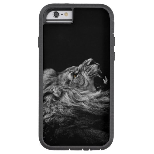 Lion Space Gray Iphone 6 Tough Xtreme iPhone 6 Hoesje