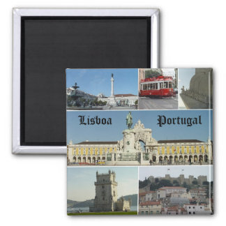 Lisbao, Lissabon, Portugal Magneet