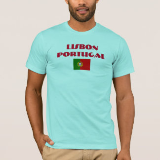 Lissabon Hoog Portugal - het Overhemd van de T Shirt