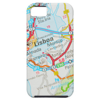 Lissabon, Lissabon, Portugal Tough iPhone 5 Hoesje