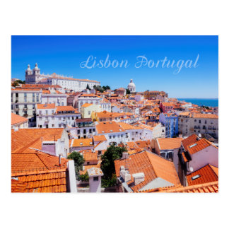 Lissabon Portugal Briefkaart