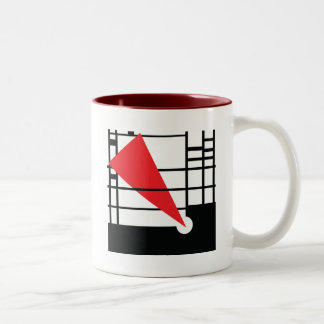 Lissitzky & Mondrian Tweekleurige Koffiemok
