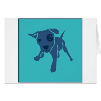 Listige Hond Wenskaart