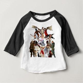 Literaire Gedroomde Schrijvers uit de klassieke Baby T Shirts