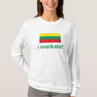 Litouwen i sveikata! (Juicht! toe) T Shirt