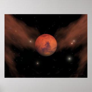Littekens van Mars Poster