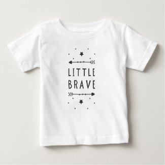 Little Brave Baby T Shirts