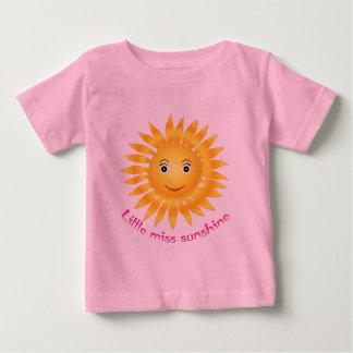 Little miss sunshine baby t shirts