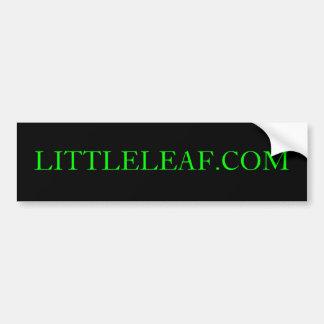LITTLELEAF.COM de Sticker van de bumper