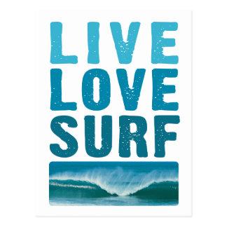 live_love_surf briefkaart