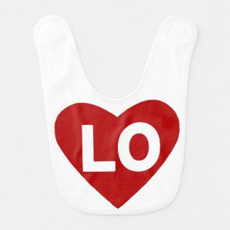 LO {liefde} de Slab van het Hart voor Tweelingen Slabbetje