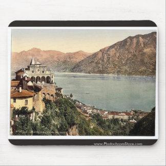 Locarno, Madonna del Sasso, Tessin, Zwitserland vi Muismat