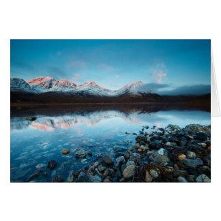 Loch Slapin, Eiland van Skye, Schotland Kaart
