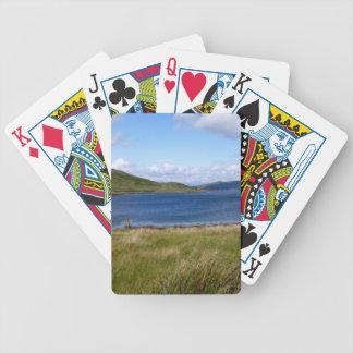 Loch Spelve, Schotland Bicycle Speelkaarten