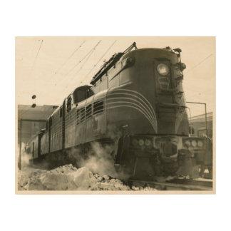 Locomotief gg-1 #4800 van de Spoorweg van Hout Afdruk