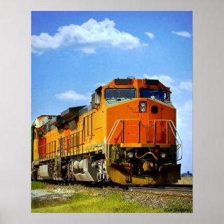 Locomotief Poster