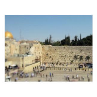 Loeiende Muur - Oude Stad het Briefkaart van