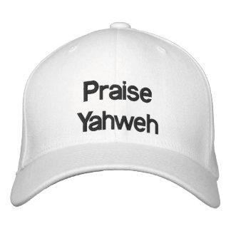 Lof Yahweh - Pet Geborduurde Pet