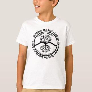 Logo B&W van de Bijeenkomst van de Familie van T Shirt