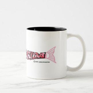 Logo sara-Cuda Tweekleurige Koffiemok