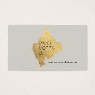 Logo van de Ontwerper van Luxe Abstract het Goud