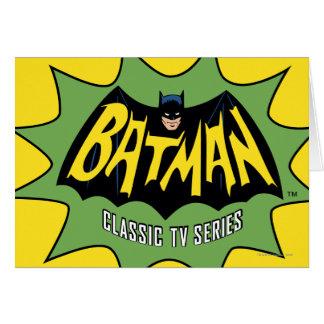 Logo van de Reeks van TV van Batman het Klassieke Wenskaart
