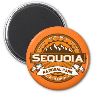 Logo van het Park van de sequoia het Nationale Magneet