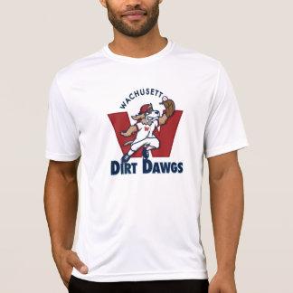 Logo van het Team van het Honkbal van Dawgs van T Shirt